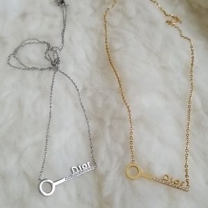 Dior Necklace gold or silver What do you prefect